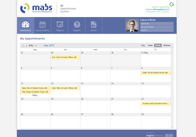 MABS AI Appointments System